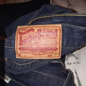 Lucky brand  dugarees, lil' Maggie regular length